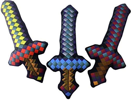 44cm Pixel Schwert Soft Toy - Geschenke für Jungen