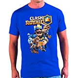 Camiseta Clash Royale Rey (9 - 10 años)