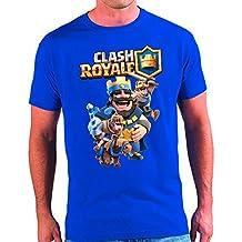 Camiseta Clash Royale Rey (11 - 12 13 años)