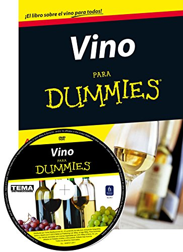 Pack Vino para Dummies + DVD