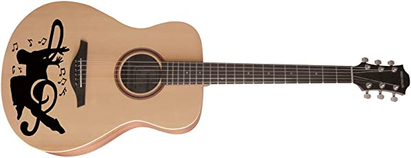 meSleep Music Guitar Sticker