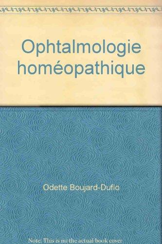 Ophtalmologie homéopathique