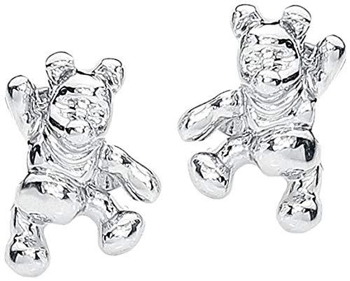 Winnie Pooh Disney by Couture Kingdom Ohrstecker-Set silberfarben - Couture Schmuck Disney