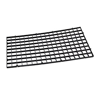 DealMux Aquarium Fish Tank Fry Screen Egg Net Crate Separate Divider Board Black 12
