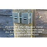 Postfix Trellis Fence Height Extension Arms Pair Amazon