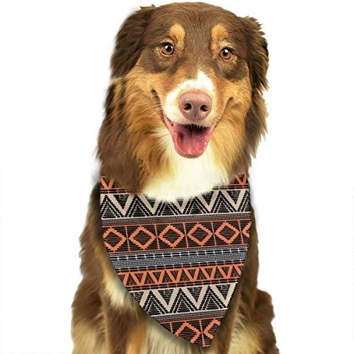Osmykqe Afrikanisches Style3-Muster-Mode-Bandana-Haustier-Hundekatze-Halstuch-Hundeschal -