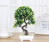KUKI High-End künstliche Pflanzen Bonsai Home dekorative Blumen kreative gefälschte Topfpflanzen , A
