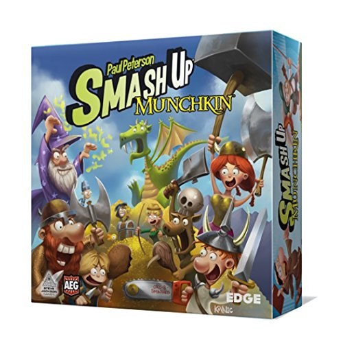 Smash Up - Munchkin, Juego de Cartas (Edge Entertainment EDGSU07)
