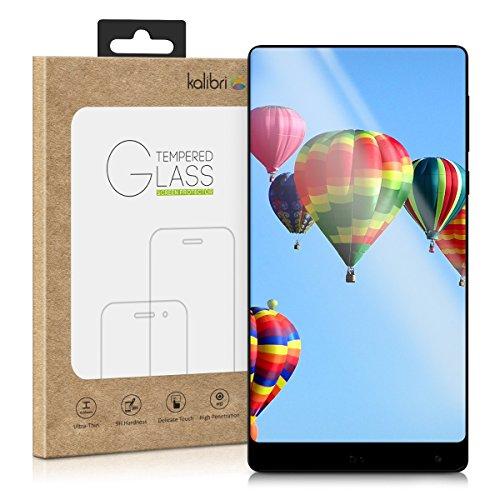 kalibri-Echtglas-Displayschutz-fr-Xiaomi-Mi-Mix-3D-Schutzglas-Full-Cover-Screen-Protector-mit-Rahmen-in-Schwarz