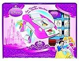 MULTIPRINT 8660 - Juego creativo de máquina para hacer pegatinas y sellos, diseño de Princesas de Disney