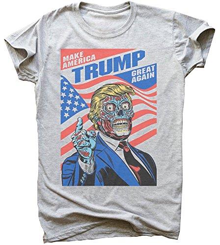 Zombie Trump Gonna Make America Great Again Men's T-Shirt Small