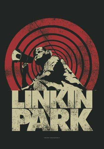 Linkin Park Bandiera-Loud & Clear-Bandiera Poster 100% poliestere Dimensioni 75x 110cm