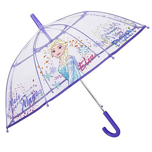 Paraguas Infantil Transparente Disney Frozen   Paraguas