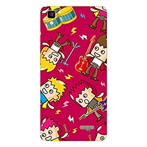 Garmor Designer Silicon Back Cover For Reliance Lyf Water 3