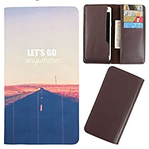 DooDa - For HTC Desire V / Desire X PU Leather Designer Fashionable Fancy Case Cover Pouch With Card & Cash Slots & Smooth Inner Velvet