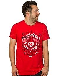 Minecraft Overworld Enchanting Potions T Unisex Red Size Medium