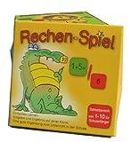 Rechen-Spiel Zahlenbereich 1-10 Lernkarten, leicht lernen mit Karteikarten