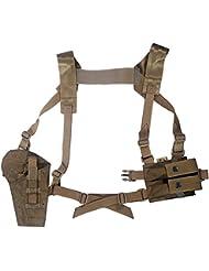 Flyye pistolera de hombro sistema Panel MOLLE Coyote Brown