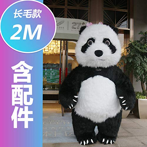 YYYDHW Giant Panda Cartoon Doll Kleidung Net Cartoon Doll Kostüm Puppe@Großer Panda 2 Meter_Eine - China Doll Baby Kostüm