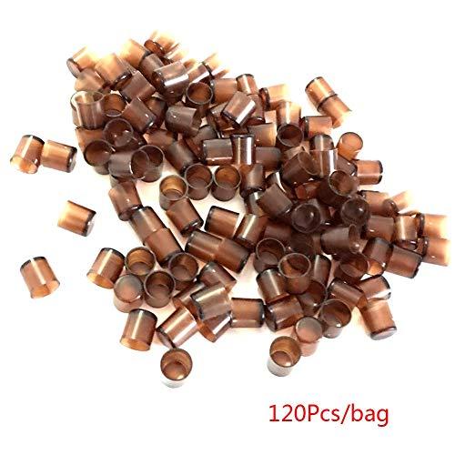 KJH21 - 120 Herramientas de alimentación de Abejas para Apicultura, Color marrón, Show, 120pcs