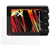 atFoliX Folie für Garmin Dash Cam 45 Displayschutzfolie - 3 x FX-Antireflex-HD hochauflösende entspiegelnde Schutzfolie
