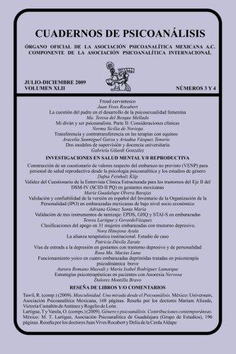 CUADERNOS DE PSICOANÁLISIS, JULIO-DICIEMBRE 2009 vol XLII, nums. 3 y 4