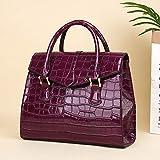 Damen Leder Handtasche Umhängetasche PU Damen Messenger Bag große Handtasche Damen Handtasche