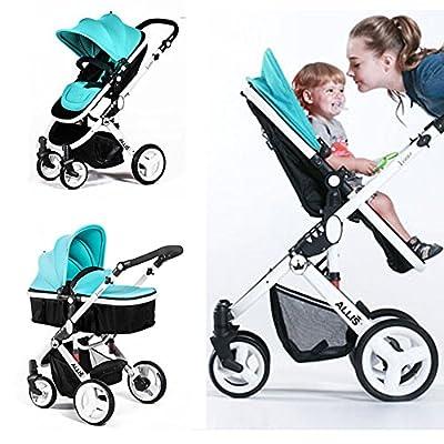Allis® Baby Kinderwagen Buggy Buggy Tragewanne Travel 2in1türkis