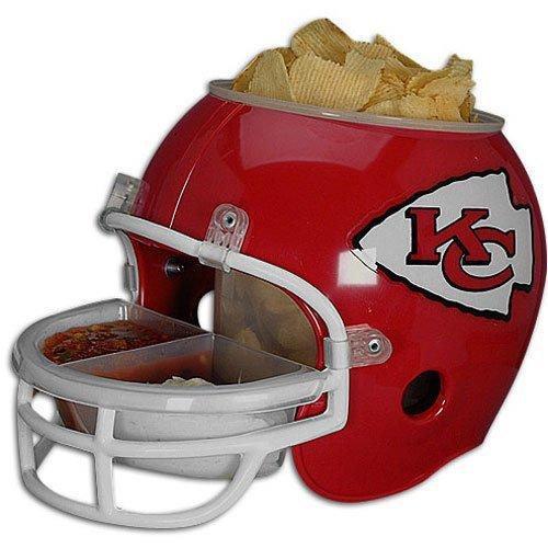 WinCraft Kansas City Chiefs Football NFL Snack Helmet (Chiefs-nfl)