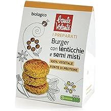 Baulevolante Preparato per burger con lenticchie e semi misti