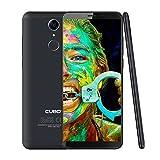 CUBOT Nova 4G Let Dual SIM Smartphone (Dual 4G Netzwerke) Handy Ohne Vertrag Android 8,1, 5.5 Zoll(18:9) HD+IPS Display 2800 mAh Akku 3GB RAM+16GB ROM 13MP+8MP Kamera 0.1s Fingerprint Sensor(Schwarz)