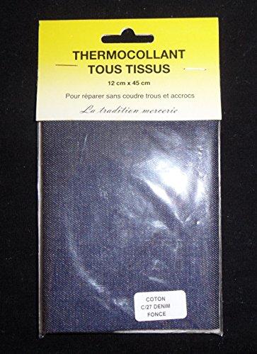 percale-tissu-thermocollant-patch-couleur-bleu-jeans-fonce-12-x-45-cm-100-coton-piece-de-reparation-