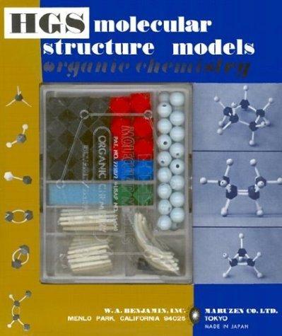 HGS Molecular Structure Model Organic Chemistry Set by Maruzen (1988-01-11)