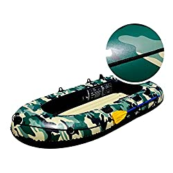 NUOAO Inflatable boat kayak fishing boat assault boat