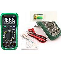 JZK® Mastech MY64, multimetro digitale professionale, AC/DC voltmetro amperometro, capacimetro,