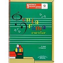 Pentagrama Escolar Música 1: Educación Primaria. Ciclo Inicial