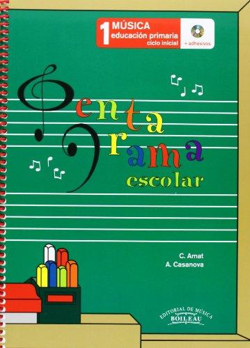 Pentagrama Escolar Música 1: Educación Primaria. Ciclo Inicial - 9788480207638