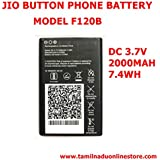 Pcs System JIO 4g Button Phone Battery Compatible Battery Suitable For Jio F120B Button Type Mobile(Only BatteryOnly) Suitable For Jio F120B Button Type Mobile