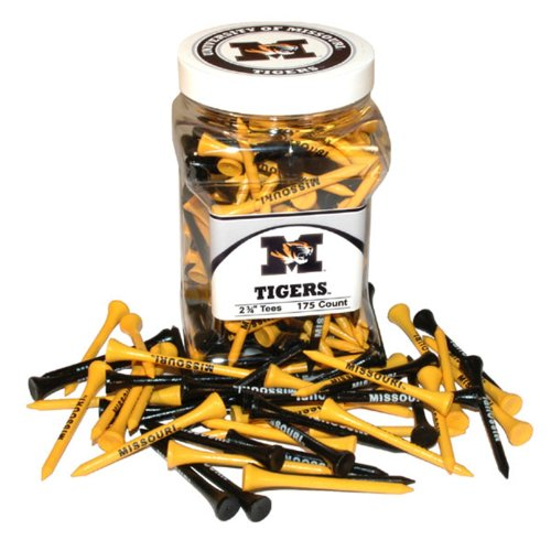 Team Golf NCAA 175 Tee Jar, Missouri Tigers