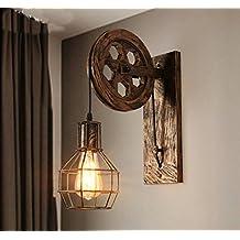 Apliques de pared vintage - Apliques de luz rusticos ...