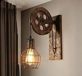 Wandleuchte e27 vintage wandlampe retro wandbeleuchtung - Wandlampe treppenhaus ...