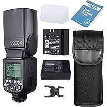 Godox Ving V860II-C Pionnier 2.4G E-TTL II Pionnier Flash sans Fil Flash Li-on pour Canon 6D 7D 50D 60D 500D 550D 600D 650D 1000D 1100D 1DX 580EX II 5D Mark II III