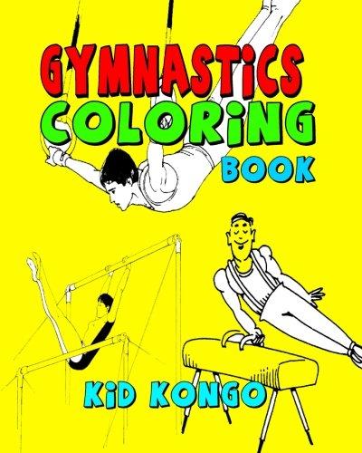 Gymnastics Coloring Book por Kid Kongo