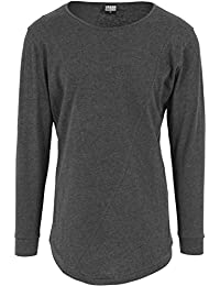 Urban Classics Herren Langarmshirt Shaped Fashion Long Sleeve Tee