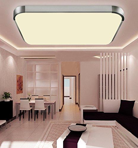 WYBAN Hohe Qualität Moderne Energiespar Panel 12W Warmweiß LED  Deckenleuchten Perfekt Für Wohnzimmer Schlafzimmer Gastzimmer Pendelleuchte  Deckenbeleuchtung