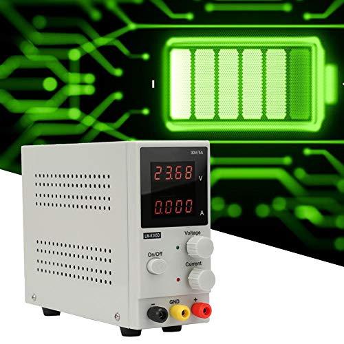 Fuentes de Alimentacion Estabilizada Regulables DC 0-30V / 0-5A para Laboratorio, Fábrica, DVD para Autos Funciones de Protección de OTP/OCP/OPP