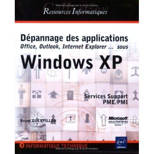 Dépannage des applications sous Windows XP