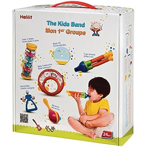 Halilit The Kids Band - Set di strumenti musicali giocattolo