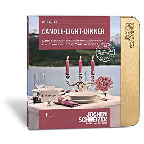 Jochen Schweizer Erlebnis-Box 'Candle-Light-Dinner für 2' -