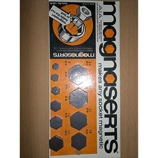 Magneteinsätze für Steckschlüssel metrisch - Magnaserts 10-tlg.